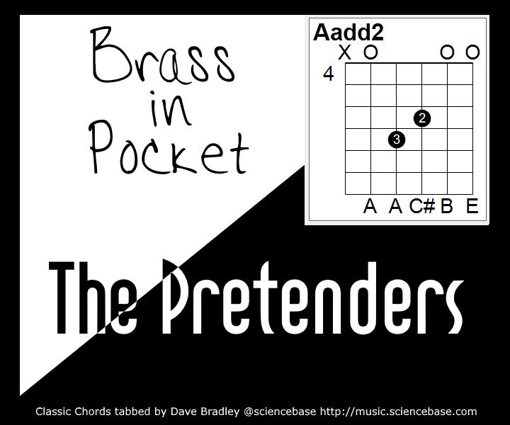 Classic Chords 11 Brass In Pocket David Bradley