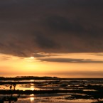 Stiffkey Marshes Sunset