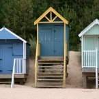 Three Beach Huts